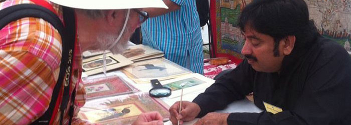 Techniques of Indian Miniature Painting Workshop London 2015