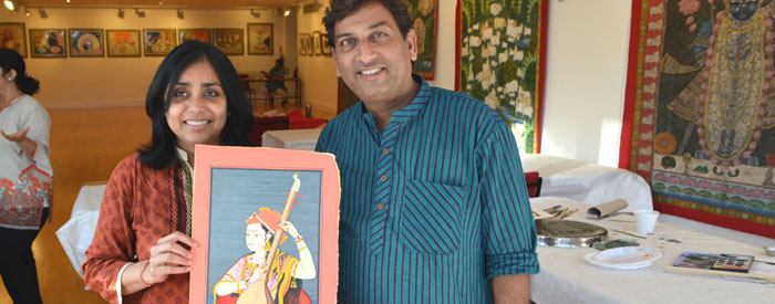 Learn Indian Miniature Painting Summer School